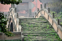 Deyang, China: Pan Bridge at Confucian Temple Royalty Free Stock Images