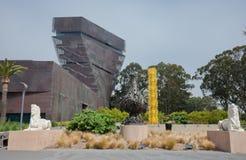 DeYoung museum arkivbild