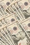 Dez contas de dólar Imagens de Stock Royalty Free