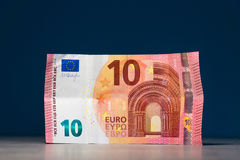 Dez euro disponivel Fotografia de Stock Royalty Free