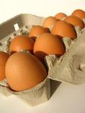 Dez ovos Fotografia de Stock Royalty Free
