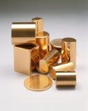 Dez partes de cobre Imagem de Stock Royalty Free