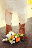 Deze Laarzen Stock Foto's
