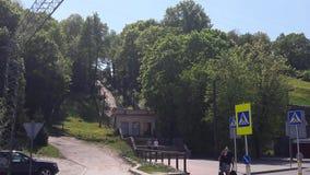 Deze Oude Stad van Kaunas Stock Afbeelding