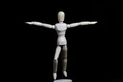 Deze robot beweegt zich als een mens Stock Foto