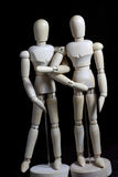Deze robot beweegt zich als een mens Stock Afbeelding