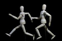 Deze robot beweegt zich als een mens Stock Foto's