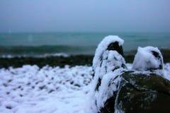 Deze voeten bereikten Colchis aan Oostelijke kust van Euxine (de Zwarte Zee royalty-vrije stock fotografie