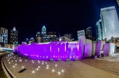 27. Dezember 2014 Charlotte, nc, Skyline USA - Charlotte nahe r Stockfotos