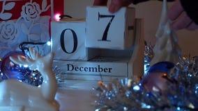 7. Dezember Datum blockiert Advent Calendar