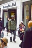 26. Dezember ist der beschäftigtste Einkaufstag des Jahres Lizenzfreie Stockfotografie