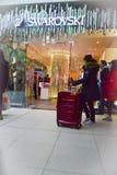 26. Dezember ist der beschäftigtste Einkaufstag des Jahres Stockfoto