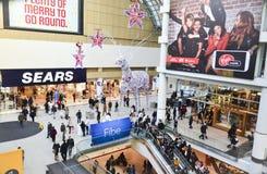 26. Dezember ist der beschäftigtste Einkaufstag des Jahres Stockbilder