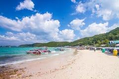 4. Dezember 2015 Koh Lan-Touristenorte in der Stadt An gefunden Stockfotografie