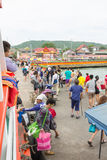 17. Dezember 2014 Larn-Insel Pattaya, Thailand Lizenzfreie Stockfotos