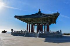 27. Dezember 2018 San Pedro, Ca Koreanische Bell der Freundschaft und des Bell-Pavillons lizenzfreies stockfoto