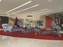 15. Dezember 2016 Subang Jaya Weihnachten-deco am DA-Mann-Einkaufskomplex Stockfoto