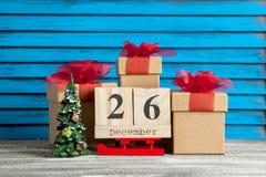26. Dezember-Verkauf Lizenzfreies Stockbild