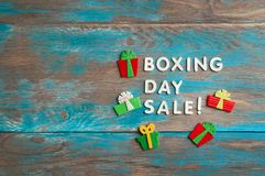 26. Dezember-Verkauf Lizenzfreie Stockfotografie
