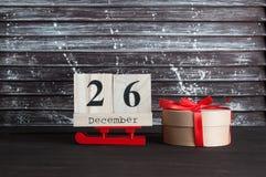 26. Dezember-Verkauf Lizenzfreies Stockfoto