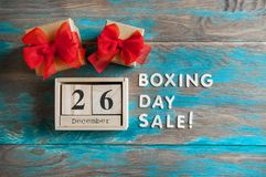 26. Dezember-Verkauf Stockfotografie