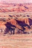 21. Dezember 2014 - versteinerter Wald, AZ, USA Lizenzfreie Stockbilder