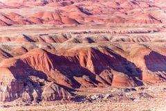 21. Dezember 2014 - versteinerter Wald, AZ, USA Stockfotografie