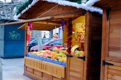 5. Dezember 2016: Weihnachtsmarkt Stockfotografie