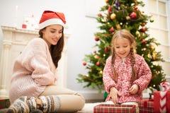 26. Dezember zu Hause genießen Stockfoto