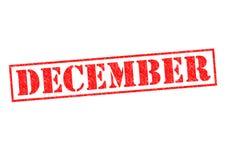 dezembro ilustração do vetor