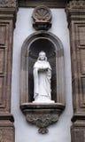 Dezenove Saint do século que guardam a escultura do livro Foto de Stock Royalty Free