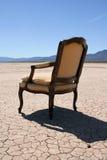 dezerterujący krzesła Obraz Stock