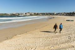 dezerterujący plażowy bondi Zdjęcia Stock