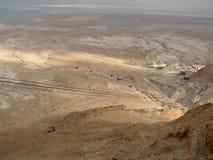 Dezerteruje blisko Masada obraz royalty free