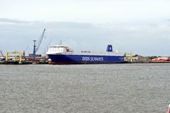 DFDS Seaway Ferry Stock Photo