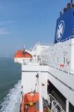 DFDS Seaways prom pionowo Zdjęcie Stock