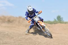 Défi de motocross Image stock