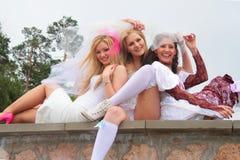 Défilé 2010 de mariées Photo stock