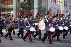 Défilé de jour de rue Patrick Photo stock