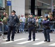 Défilé de jour de rue Patrick Image libre de droits