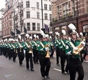 Défilé Londres du jour d'an neuf. Images libres de droits