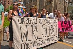 D?fil? Toronto de WorldPride Image libre de droits