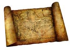 Défilement antique Image stock