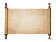 Défilement de papier de cru Image libre de droits