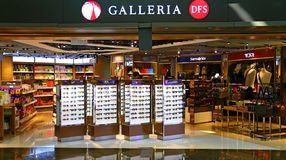 Dfs galleria duty free shopping outlet hong kong Stock Photo