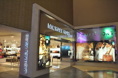 DFS Galleria in Waikiki, Oahu, Hawaii. Michael Kors at DFS Galleria Shopping Mall in Waikiki, Oahu, Hawaii. The multi-level shopping center houses the famous royalty free stock photos