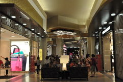 DFS Galleria in Waikiki, Oahu, Hawaii Stock Photography