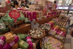 DFS-tullfria varan shoppar i Siem Reap royaltyfri foto
