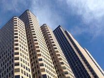dfw的摩天大楼 免版税库存图片