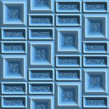 3dfxpattern85 Royalty Free Stock Images